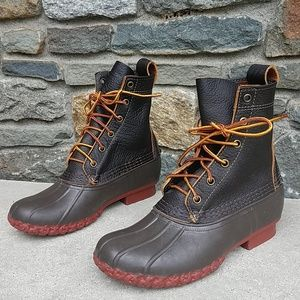 L.L.Bean thinsulate bison duck boots